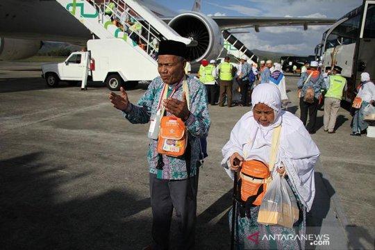 5 kloter haji Aceh telah kembali ke Tanah Air
