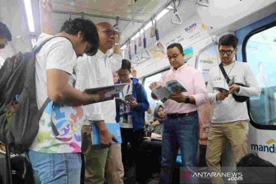 Anies luncurkan #RuangBacaJakarta, ajak warga DKI budayakan membaca