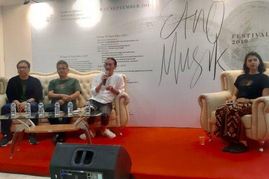 Anto Hoed sebut Etno Musik Festival penting untuk angkat budaya bangsa