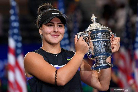 Bianca Andreescu mundur dari turnamen WTA Finals karena cedera lutut