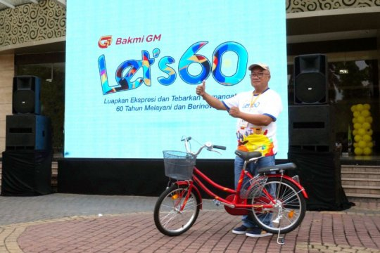 Genap 60 tahun, Bakmi GM bagikan sepeda untuk anak-anak panti asuhan