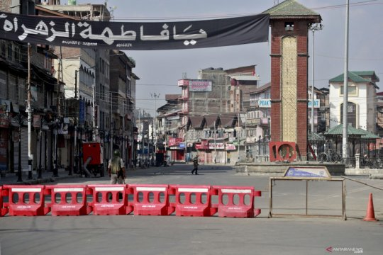 Tentara India siaga jelang satu tahun pencabutan otonomi Kashmir