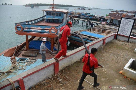 Pasokan BBM satu harga ke Pulau Banyak, Aceh