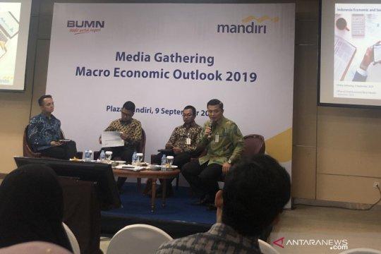 Mandiri prediksikan ekonomi Indonesia tumbuh 5,06 persen pada 2019