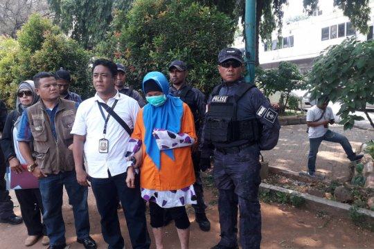 Polisi gelar rekonstruksi 62 adegan istri bunuh suami