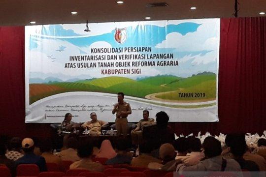 Warga 103 desa di Sigi ikut konsolidasi reforma agraria