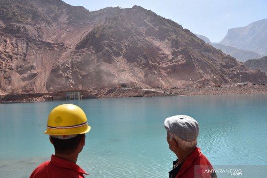 Tajikistan operasikan turbin kedua PLTA Rogun Senin ini