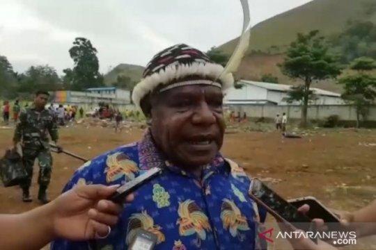 Tokoh adat Lapago minta tidak ada demo berujung anarkis