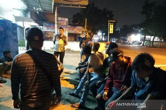 Polisi Medan tangkap 18 remaja anggota geng motor Simple Life
