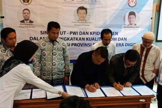 Optimalkan kesempatan kuliah di Banten, UT gandeng PWI-KPID