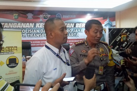 Polda Metro Jaya akan lengkapi jalur Transjakarta dengan E-TLE