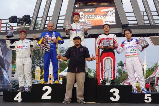 Kejurnas Auto Gymkhana, CARfix Indonesia Team borong 12 trofi