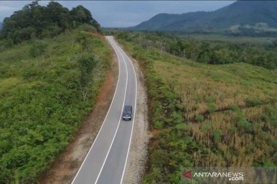 Kementerian PUPR tingkatkan jalan paralel perbatasan Kalimantan