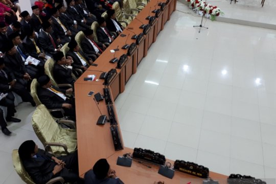 Pelantikan 35 anggota DPRD Kota Palu