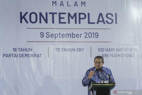 "SBY: Prinsip ""the winner takes it all"" seringkali tidak cocok"