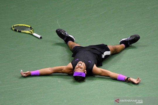 Nadal tambah jarak dari Djokovic, perbesar asa tutup musim nomor wahid