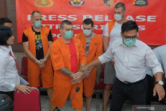 WN Bulgaria tersangka pembobol ATM ditangkap di Bali
