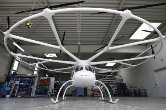 Geely investasi mobil terbang di Volocopter
