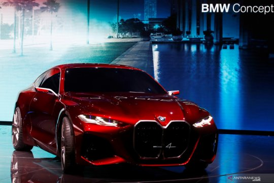 Visi BMW dan Mercedes di Frankfurt Motor Show