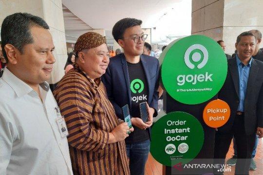 Kemenhub sambut baik inovasi terbaru Gojek di Bandara Soetta