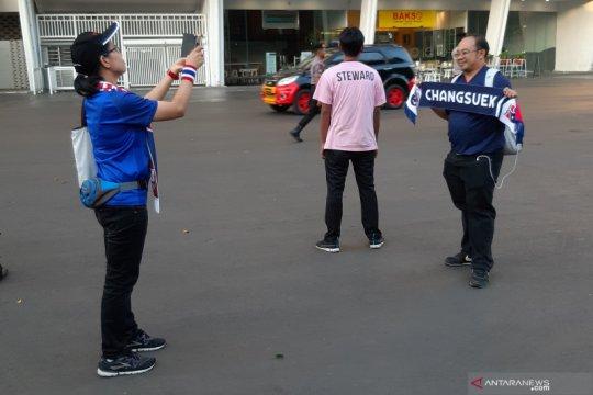 Suporter Thailand terkesima lihat pengamanan ketat SUGBK