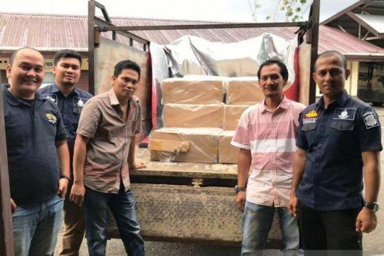 Bea Cukai dan Polres Aceh Selatan gagalkan peredaran rokok asal Jateng