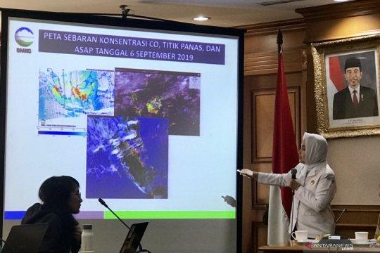 Peningkatan titik panas di wilayah ASEAN picu akumulasi asap Karhutla