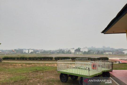 Kabut asap sempat batalkan penerbangan ke Muara Teweh