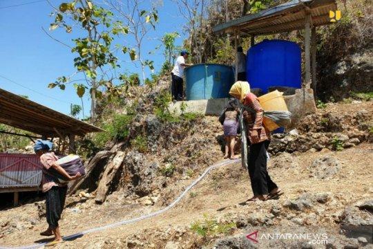 Kementerian PUPR salurkan air bersih di Gunung Kidul