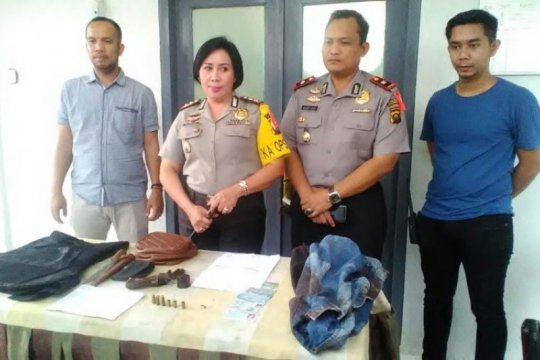Polres Ogan Komering Ulu tangkap dua orang pelaku begal