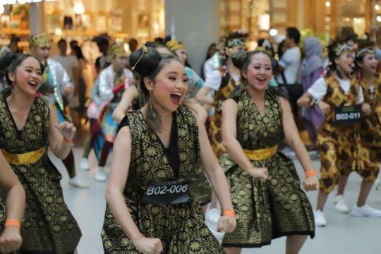 Lagu Batak Sik Sik Sibatumanikam jadi musik pengiring Indonesia Menari