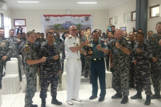 Koarmada III TNI AL latihan bersama Australia