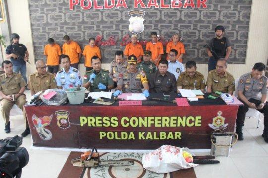 Polda Kalbar tangani 50 kasus penegakan hukum Karhutla