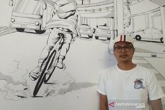 Pengusaha kurir sepeda Jakarta dukung ganjil genap