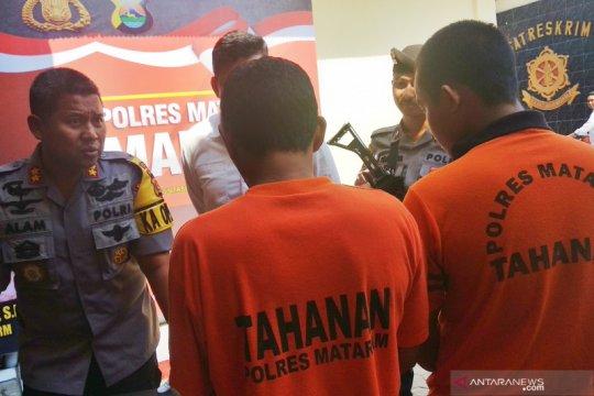 Polres Mataram ungkap kasus pembobolan kantor keuangan swasta
