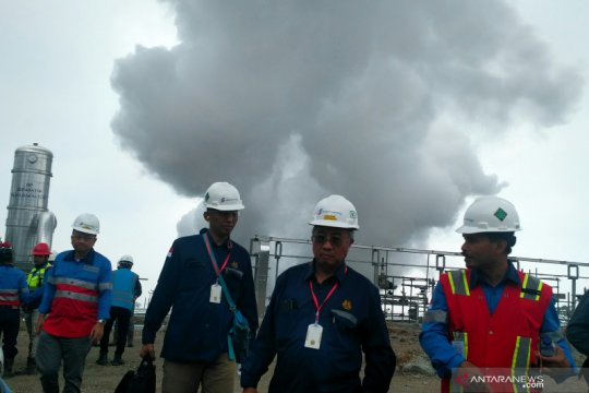 Pemerintah biayai eksplorasi panas bumi sebelum dilelang ke investor