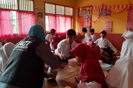 ACT Lampung berikan pelatihan karakter ratusan pelajar