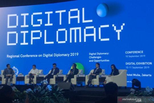 Media sosial kini jadi wadah diplomasi secara digital