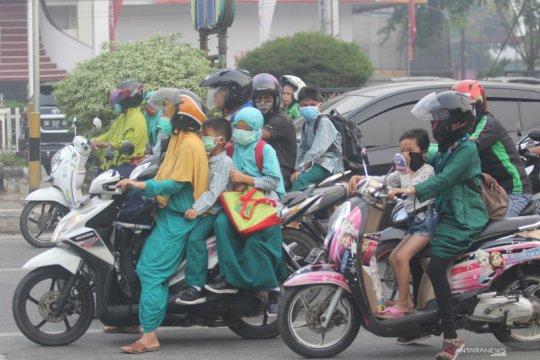 BPBD sebut kualitas udara Dumai saat ini berbahaya