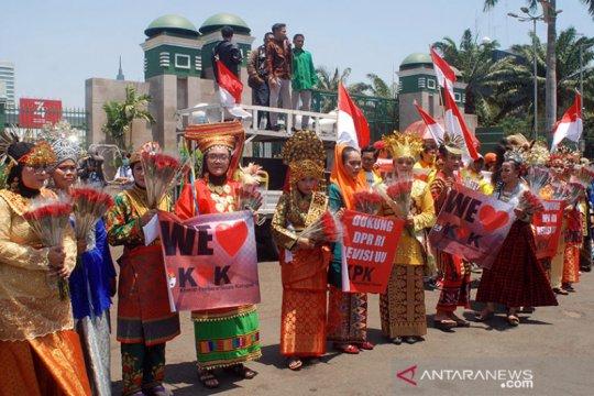 MPD lakukan aksi damai dukung revisi UU KPK