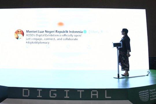 Menlu: diplomasi digital untuk kerja sama ekonomi