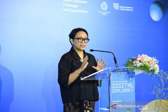 Menlu: diplomasi digital alat untuk perlindungan warga