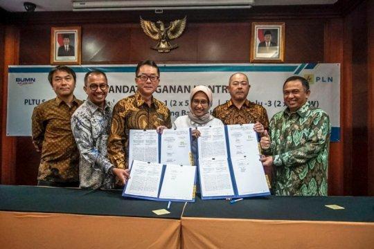 PT PP tandatangani kontrak PLTU NTT dan Sulut