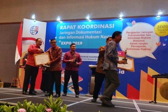 BNP2TKI raih terbaik II JDIH Nasional Award 2019