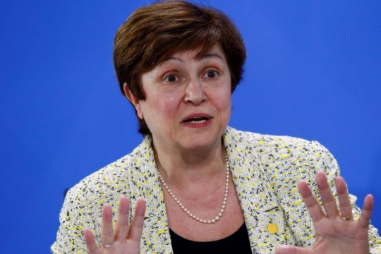 Kristalina Georgieva bakal jadi kandidat tunggal ketua IMF