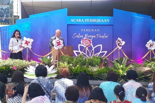 Pameran Sutra Bunga Teratai digelar Soka Gakkai Indonesia di UI