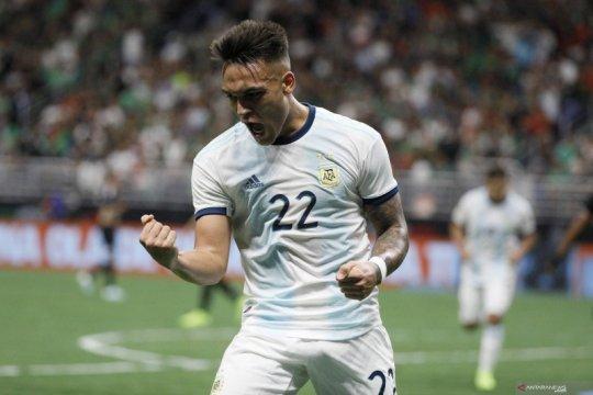 Martinez sumbang tiga gol, Argentina gasak Meksiko 4-0