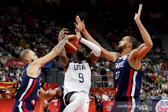 Prancis pupus mimpi juara triruntun Amerika, menangi perempat final