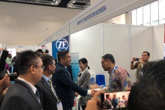 Satker Kemenhub KBRI Kuala Lumpur ikuti pameran maritim
