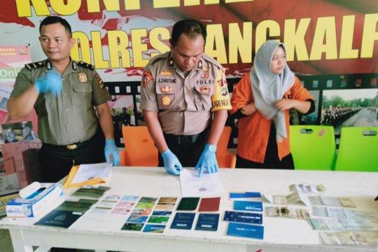 Polisi tahan IRT pencuri Rp1,7 miliar